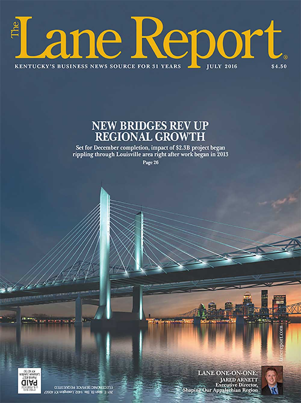 Lane Report Cover July 2016