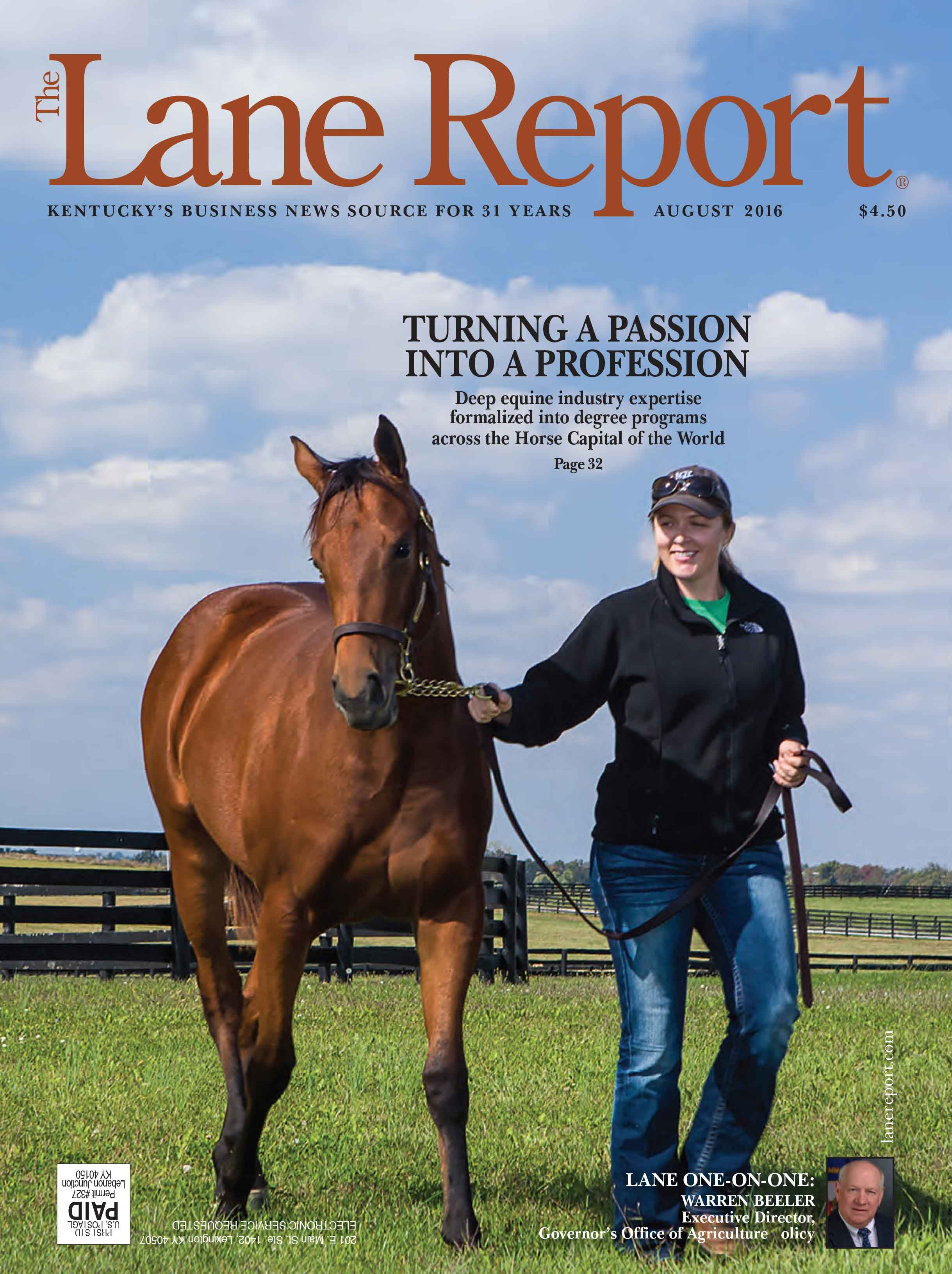 Lane Report Cover August 2016