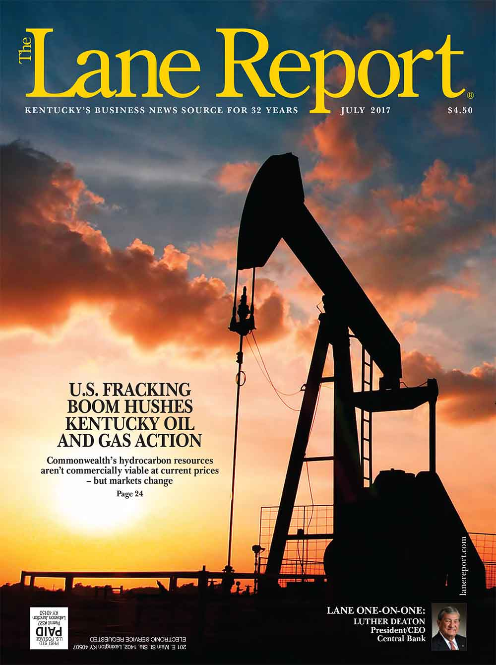 Lane Report Cover July 2017