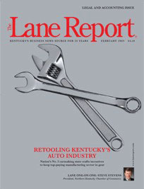 Lane Report Cover - February 2009